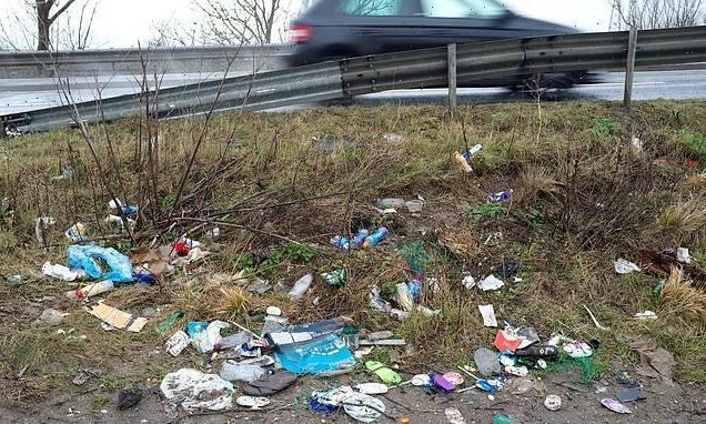 Selfish motorists are told to stop using roads as a dump