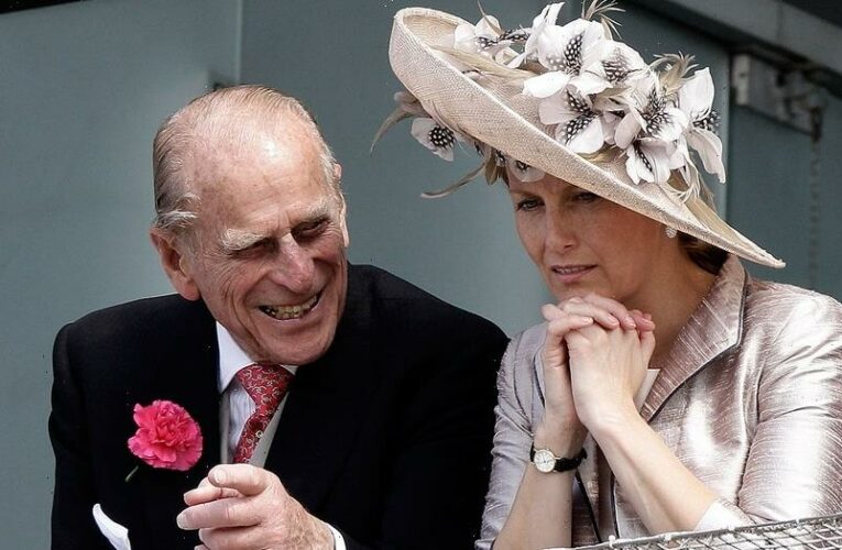 Sophie, Countess of Wessex says Prince Philip's death 'left a giant-sized hole' in the royal family's lives