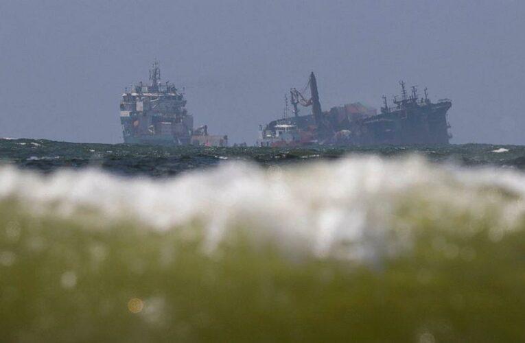 Sri Lanka braces for environmental disaster as ship sinks