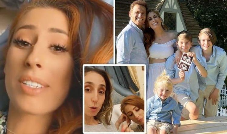 Stacey Solomon: Pregnant star saddened as she leaves Joe Swash behind in break with sister
