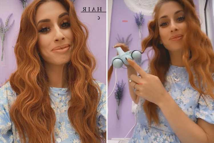 Stacey Solomon reveals she's washed her hair for the first time in THREE weeks