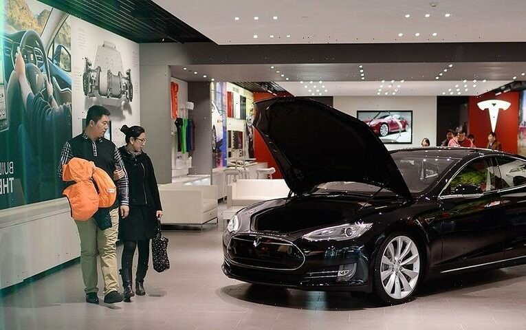 Tesla Stocks Dip Amid 46% Decline in Sales in China