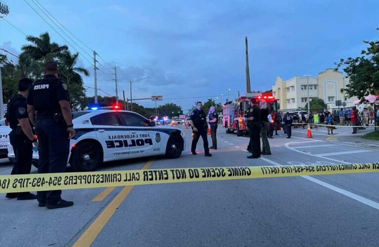 Truck runs over two people, killing one, at Florida Pride parade