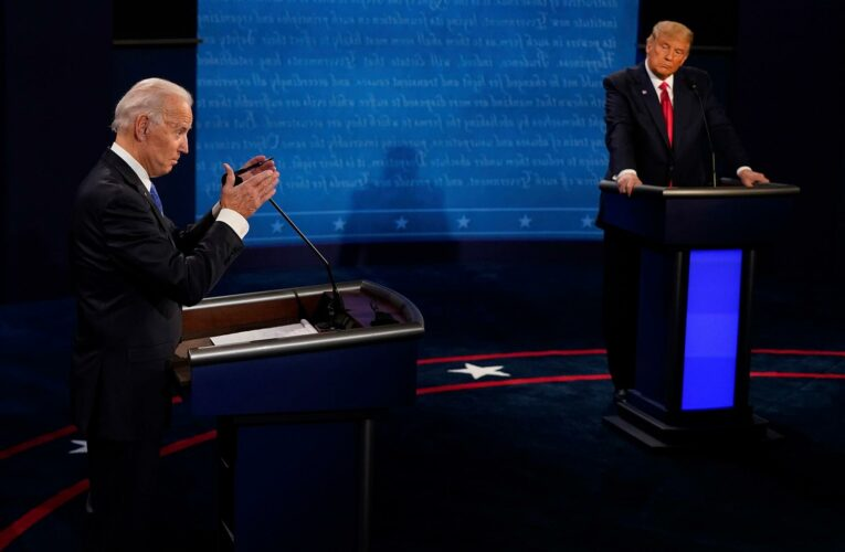 Trump says Biden would not pass cognitive test that he aced