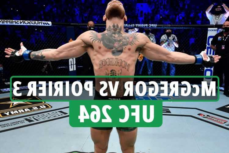 UFC 264 – Conor McGregor vs Dustin Poirier 3 date: UK start time, live stream, TV channel and prelims for trilogy fight