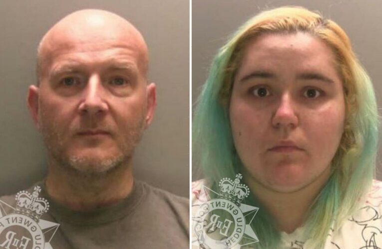 Warped girlfriend jailed after she fixed it for her paedo lover to sexually abuse toddler