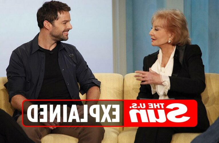 What did Ricky Martin say about his interview with Barbara Walters?