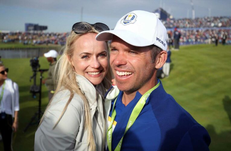 Who is Paul Casey's wife Pollyanna Woodward and when did US Open star marry former Gadget Show presenter? – The Sun