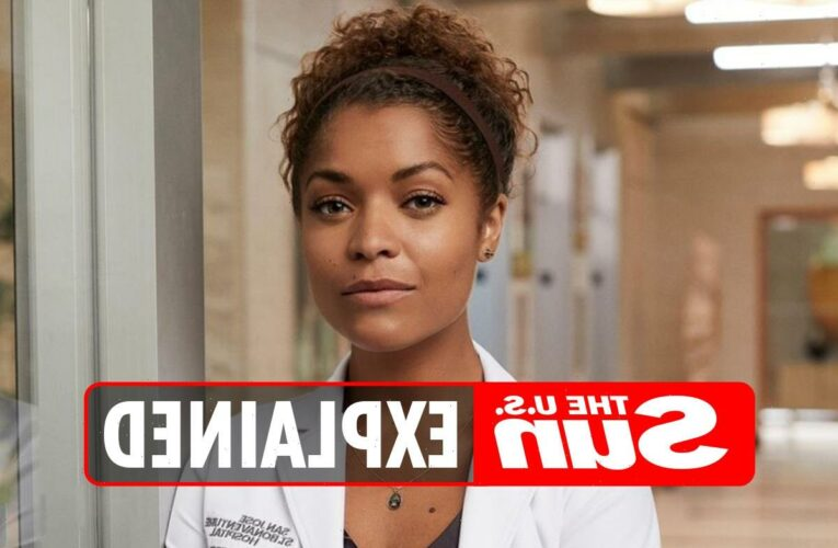 Why is Antonia Thomas leaving Good Doctor?
