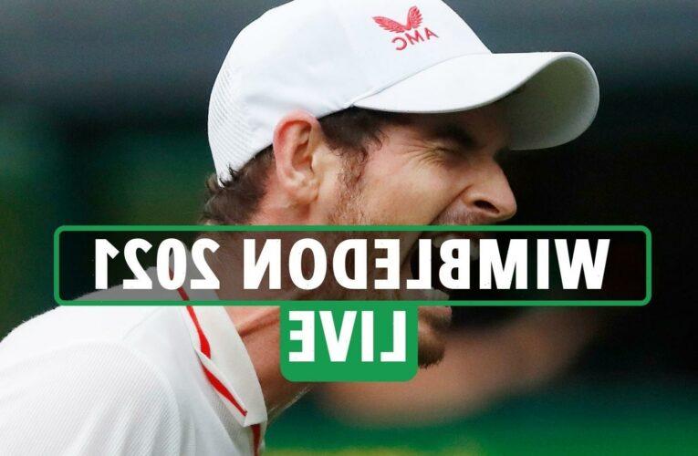 Wimbledon 2021 LIVE RESULTS: Murray drops third set in Basilashvili epic, Djokovic beats Draper – stream, latest updates