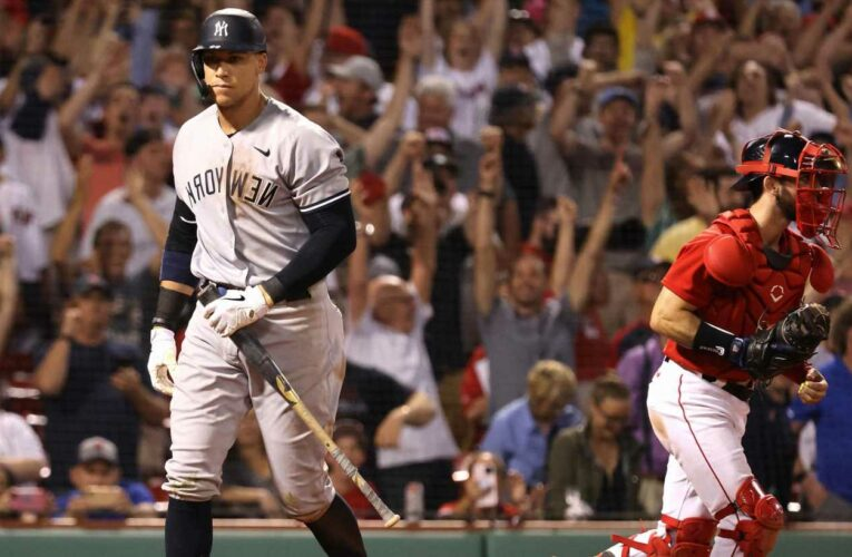 Yankees' rally falls short in fifth straight loss to Red Sox