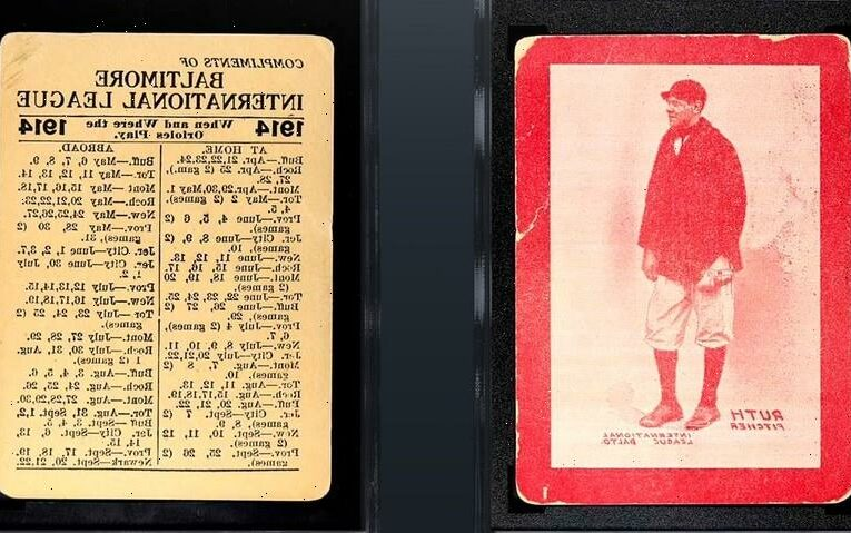 You Can Now Buy a Share of the Rarest Babe Ruth Trading Card on Earth