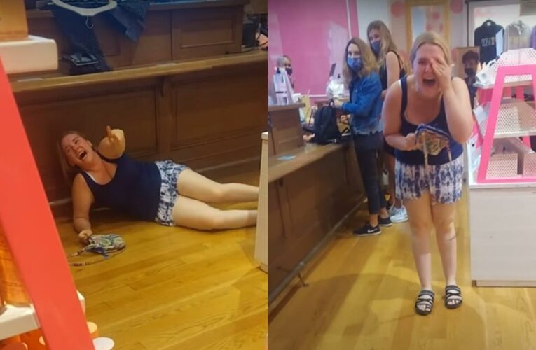'Victoria's Secret Karen' Goes BERSERK – But Things Change When She Realizes She's Being Recorded!