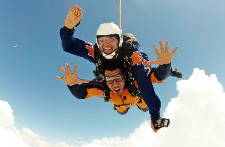 Adrenaline junkies can be paid £500 to try out skydiving, rafting and supercars