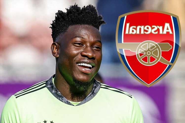 Ajax confirm Arsenal's transfer interest in banned keeper Andre Onana but Lyon lead race