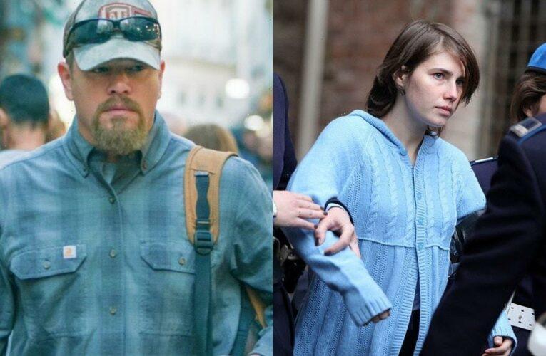 Amanda Knox Slams Matt Damon's 'Stillwater' as 'Rip Off' of Her Life Story