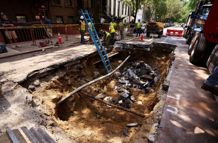 Another giant sinkhole opens up on NYC street