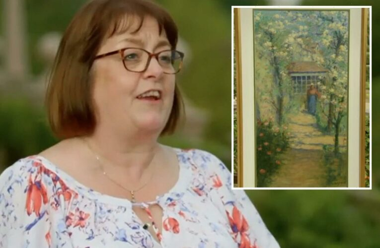 Antiques Roadshow guest gets the last laugh as she learns value of rare painting her husband HATES