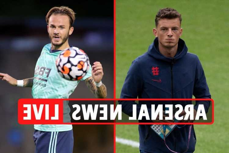 Arsenal transfer news LIVE: Ben White at training ground, Maddison wanted over Odegaard, Lautaro Martinez approach