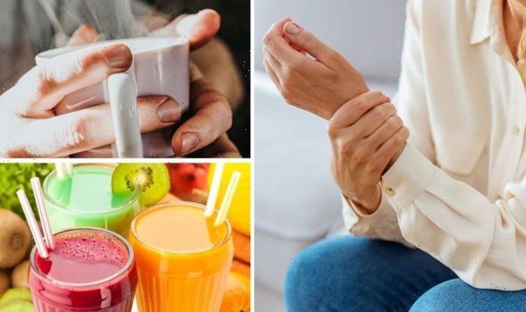 Arthritis diet: Three of the best drinks to avoid arthritis symptoms and joint pain