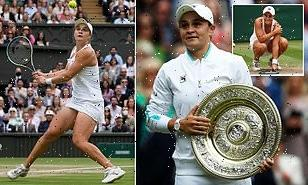 Ashleigh Barty WINS Wimbledon title after beating Karolina Pliskova