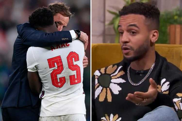 Aston Merrygold says racist abuse towards his son, 3, makes him 'see red' after England footballers' struggle