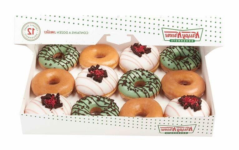 Beat the Heat With Krispy Kreme's Ice Cream-Inspired Doughnuts and Milkshakes