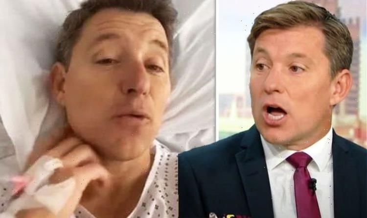 Ben Shephard: GMB star talks 'hobbling' to the theatre as he recovers after leg surgery