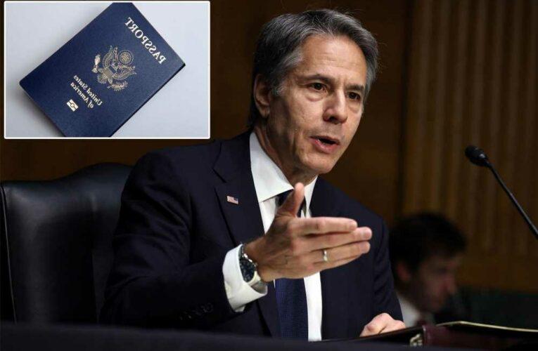 Blinken: Americans can pick their passport gender