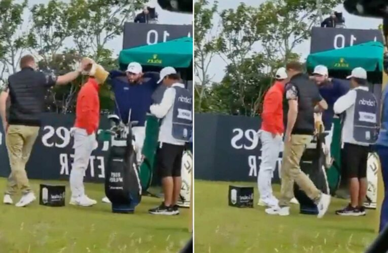 Brazen fan walks onto course, steals club out of Rory McIlroys bag