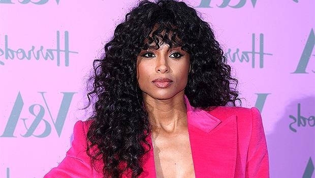 Ciara Gets Cheeky In Pink Ombré One Piece On Mexico Getaway 1 Year After Giving Birth To Baby Win  Photos