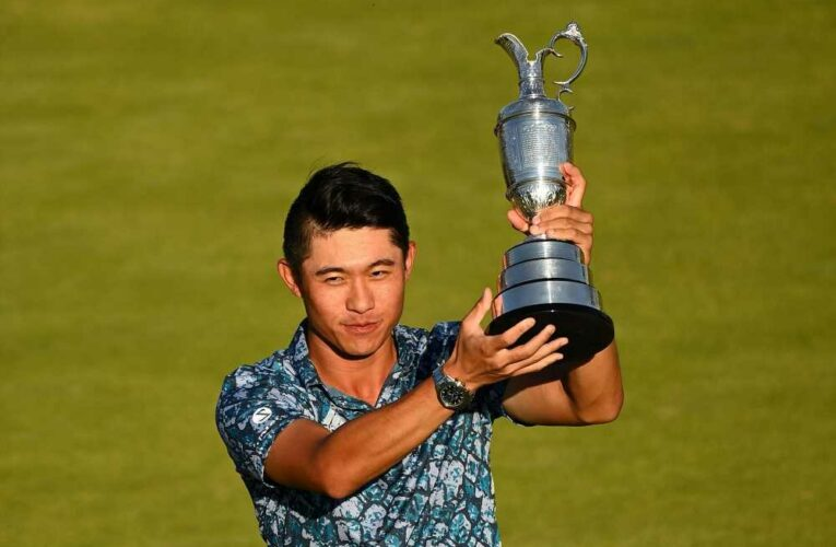 Collin Morikawa wins British Open on his first try