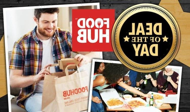 DEAL OF THE DAY: Foodhub is offering £5 off all food orders for Euros final – today only