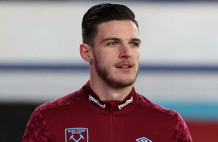 Declan Rice REJECTS two West Ham contract offers as he holds out on Man Utd or Chelsea transfer