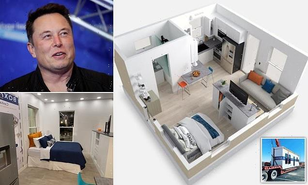 Elon Musk's 'main home' is a tiny 375 square foot prefabricated house