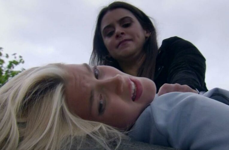 Emmerdale Meena and Leanna stars had to self-isolate for gruesome murder scenes