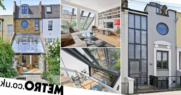 Extremely narrow London home just four metres wide on sale for £1.7 million
