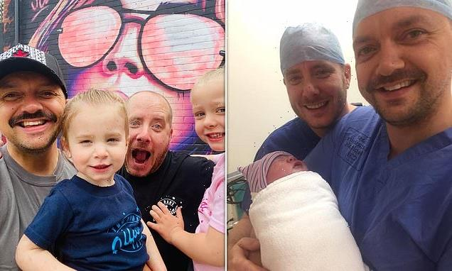 Gay dads say they are fed up of strangers asking 'who's the real dad'