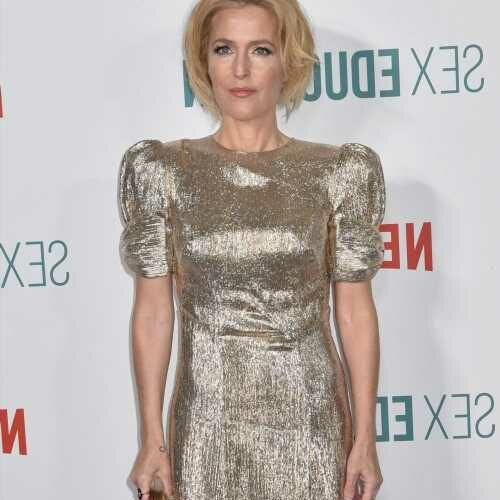 Gillian Anderson: 'I don't wear a bra anymore. I can't wear a bra. I'm sorry'