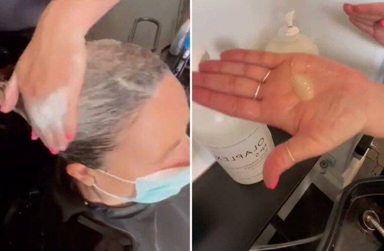 Hairdresser reveals exactly how much shampoo you should use to get perfect locks – and you're set to be shocked