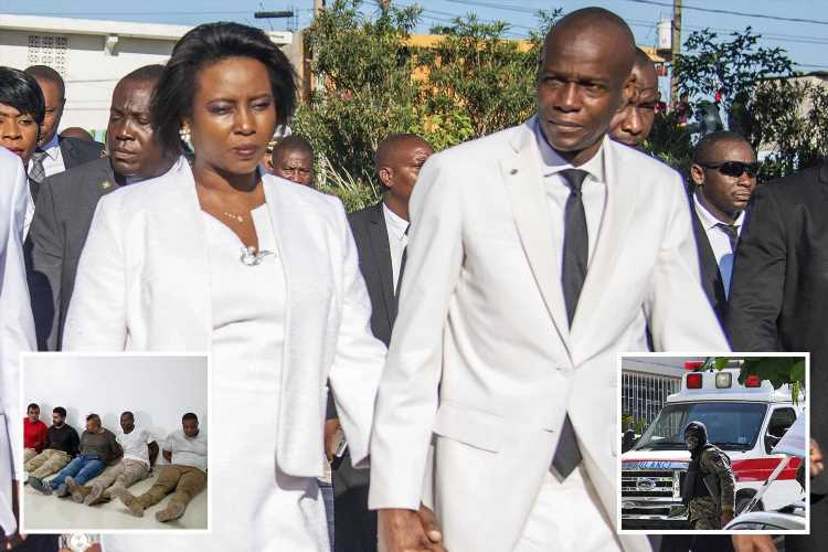 Haitian President's wife says husband was 'unable to say a single word' before being gunned down by 'gutless' assassins