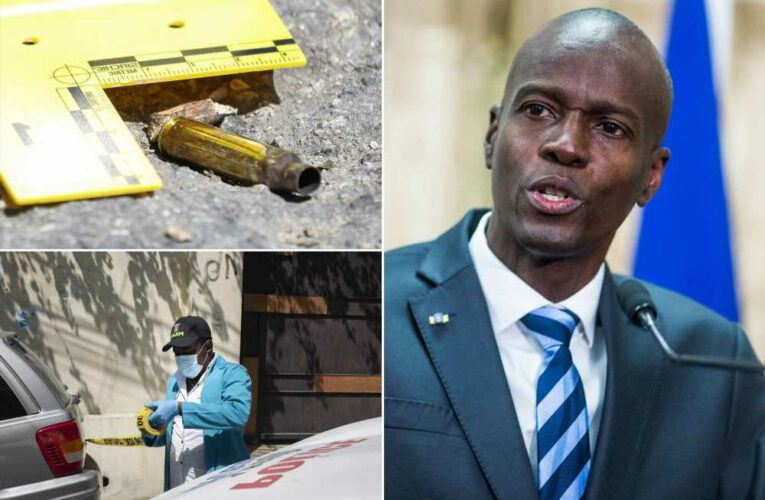 Haitian president's body was riddled with 12 bullets, eye was blown out: judge