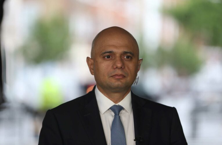 Health Secretary Sajid Javid apologises for suggesting Brits should not 'cower' from Covid