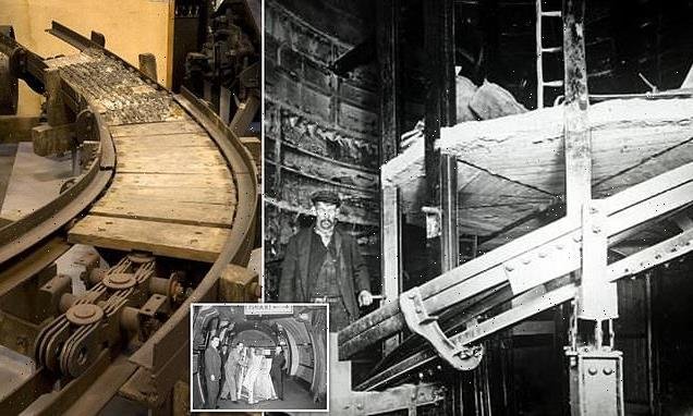 Holloway Road station was testing site for SPIRAL escalator in 1906