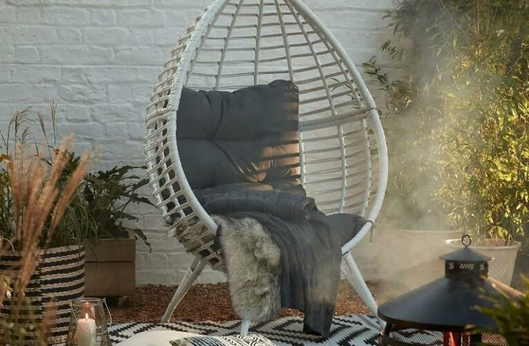 Homebase slashes price of egg chair by £130 and it's cheaper than Argos and Robert Dyas