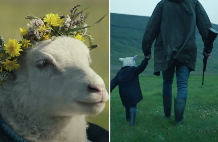 Horror fans disgusted at half-sheep, half-human baby in trailer for new Noomi Rapace movie Lamb