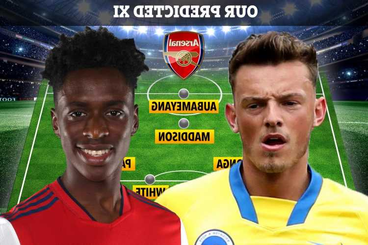 How Arsenal could line-up next season with Ben White and Albert Sambi Lokonga joining FOUR new transfers