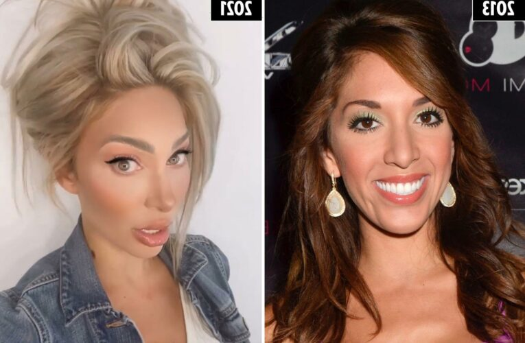 How Teen Mom Farrah Abraham has spent $133K transforming her body, including $30k on her boobs and $12k on her bum alone