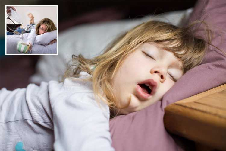 How to get your child to sleep through the night according to parenting guru… and why danger naps are your biggest enemy