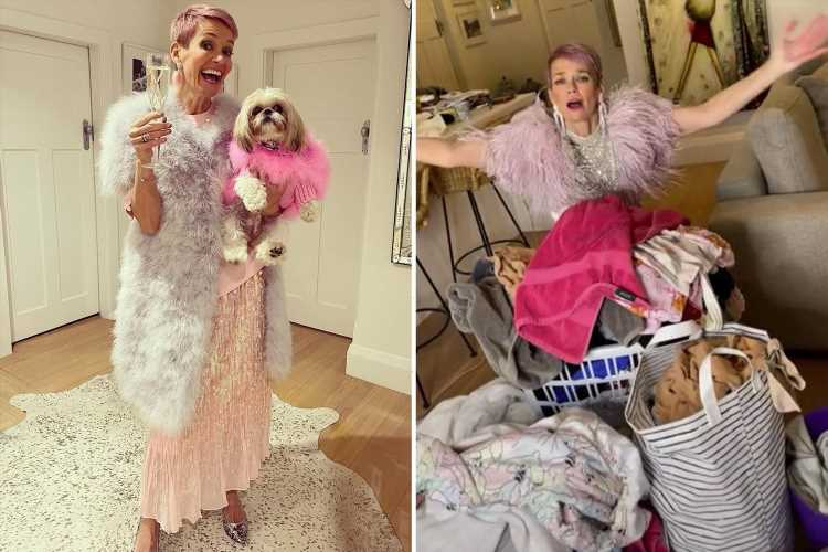 I'm a proud cr*p housewife – my house is drowning in laundry but I shift it from room to room, I'd rather get dressed up